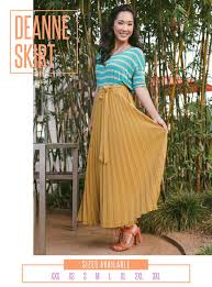 Deanne Skirt Size Chart The Lularoe Deanne Skirt Is Hand Pleated And Over Five