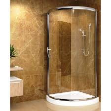 Aston Global Neo-Angle Door Round Shower Enclosure with Shower Base