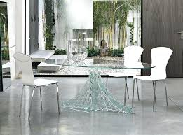 galaxy round clear glass dining table and 4 white chairs. full image for hygena lido glass dining table unique galaxy round clear and 4 white chairs l