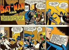 penguin batman original comic. Wonderful Original From Batman Newspaper Strip February 17 1946 In Penguin Original Comic K