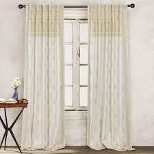 1888 Mills Batik Border Paisley SemiSheer Rod pocket Curtain Panel   Wayfair