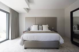 neutral small bedroom
