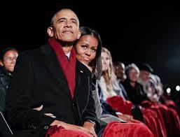 President Obama Christmas Tree Lighting Obamas Unveil Their Final White House Holiday Card