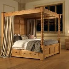 Four Post Bed Four Post Bed With Regard To Poster From Revival Beds  Inspirations Low Post . Four Post ...
