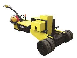 The Battery Powered Yard Spotter That Moves Trailers Safely And