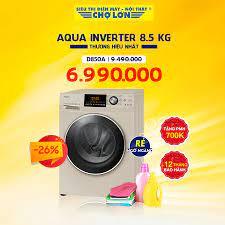 ▪️ Máy giặt AQUA Inverter 8.5 Kg D850A -... - Siêu Thị Điện Máy - Nội Thất Chợ  Lớn