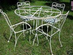 wrought iron patio furniture vintage. Lyon Shaw Wrought Iron. Iron Patio FurniturePatio Furniture Vintage O