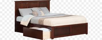 bed png. Unique Bed Platform Bed Bed Frame Size Headboard  PNG For Png H