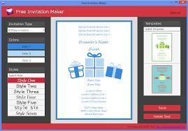 Invitation Maker Software Free Download Free Invitation Maker Media Freeware Download