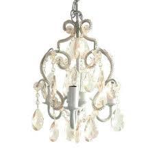 plug in chandeliers 3 light white diamond mini chandelier swag lights plug in style