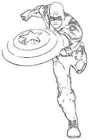 Captain America Coloring Pages Captain Coloring Pages Civil War