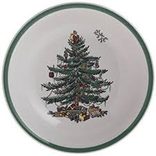 Spode Christmas Tree 28Piece Set With Shallow Cereal Bowl  Spode USASpode Christmas Tree Cereal Bowls