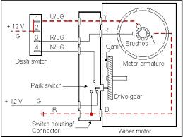 wiper motor park wiring diagram not lossing wiring diagram • honda wiper motor wiring schematic wiring diagrams rh 22 koch foerderbandtrommeln de universal wiper motor wiring
