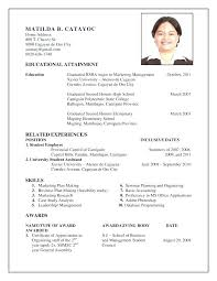 How To Make A Resume Simple How To Make A Resume For Job Resume Job Description Examples And Get