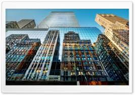 modern office hq wallpapers. Skyscrapers Reflections HD Wide Wallpaper For 4K UHD Widescreen Desktop \u0026 Smartphone Modern Office Hq Wallpapers