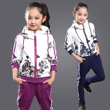 adidas kids tracksuit. aliexpress.com : buy 2017 spring baby girls clothes jacket floral kids hoodies+pants tracksuit for clothing sets sport suit 291 from adidas