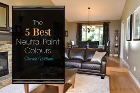 best beige paint colorsThe best neutral beige and tan paint colours by Sherwin Williams