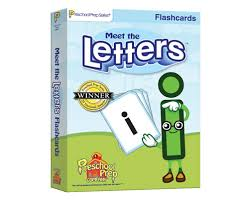 Meet The Letters Flashcards