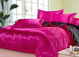 pink and black bed set black hot pink silk bedding set satin sheets king queen full pink and black bed set