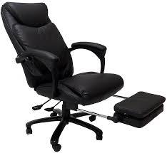 Office reclining chair Heavy Duty Vitalitywebcom Heated Massage Reclining Leather Office Chair Wfootrest