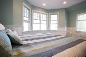 Cool blue bedroom
