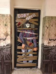 Backyards Easy Diy Halloween Door Decorations For This Month ...