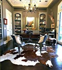 hide rug faux cow cowhide decorating ideas popular photo of decor white brown and rugs decoration