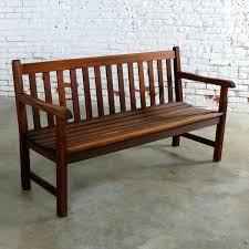 teak outdoor benches vintage natural teak outdoor three seat bench teak garden furniture sydney
