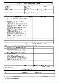 Truck Inspection Form Template Communityfoodlaw Org
