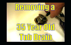 bathtub drain pipe replacement photo 8 of 9 removing a year old tub drain good how bathtub drain pipe