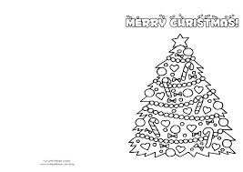 Christmas Cards To Print Black And White With Card Template Coloring