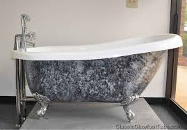 luxury painted clawfoot tub exterior collection bathroom with