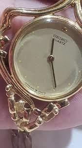 vintage seiko pendant watch necklace