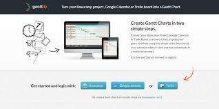 Basecamp Gantt Chart Free Gantt Charts For Basecamp Google Calendar And Trello Web