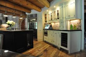 home exterior interior mesmerizing glamorous log cabin kitchen cabinets on quartz countertops log cabin