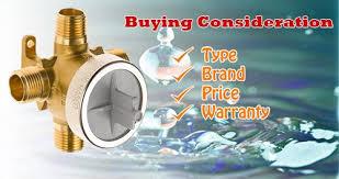 best shower valve ing guide