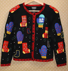Designers Studio Originals Designers Originals Womens Holiday Cardigan Sweater Bead