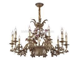 Französisch Rokoko Stil Porzellan Blume Kronleuchter Mit Antiken Messingelegante Bronze Keramik Anhänger Beleuchtung Für Haus Und Hotel Buy