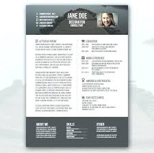 Graphic Design Resume Template Download Colorful Resume Template
