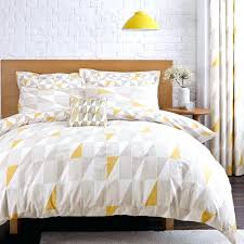 geometric print duvet cover geometric yellow reversible duvet cover and  pillowcase set geometric print duvet cover