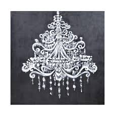chandelier canvas painting dramatic print on hobby lobby