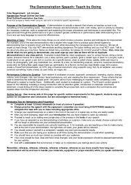 Demonstration Speech Outline Demonstration Speech Outline Format Homework Writing Service