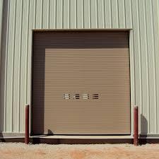 roll up industrial door aluminum galvanized steel stainless steel thermiser max