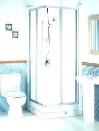 steam shower kit steam shower kit stand up stall kits image of small corner home
