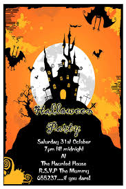 Halloween Invitations Cards 033 Template Ideas Halloween Birthday Invitations Ecards