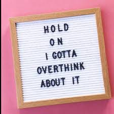 Overthinking Quotes Posts Facebook