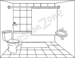 bathroom clipart black and white. Contemporary Bathroom Clip Art Bathroom Cute Restroom Clipart Black And White Jpg Library  Download And Bathroom Clipart Black White A