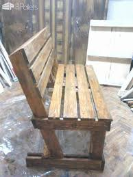 diy furniture made from pallets. diy : benches from 2 pallets furniture made o
