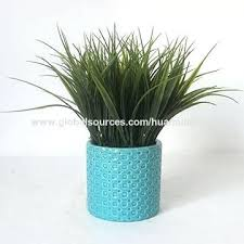 fake grass decor potted artificial grass plant faux grass wall decor