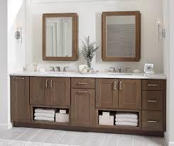 breman shaker style bathroom cabinets in cherry morel